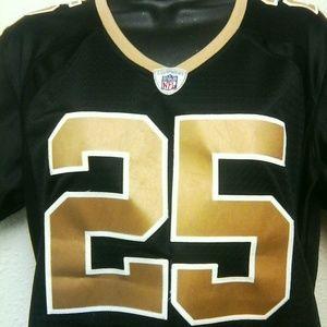 72374f11cd3 Reebok Tops - NFL New Orleans Saints Women s Large Jersey
